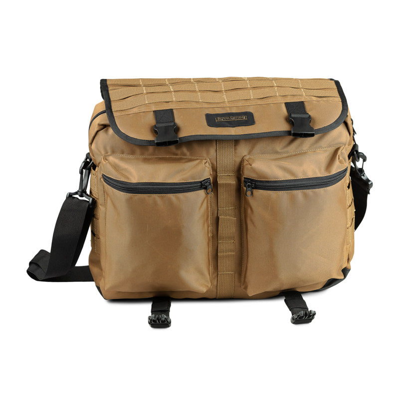 SIERRA TACTICAL MESSENGER BAG - KHAKI