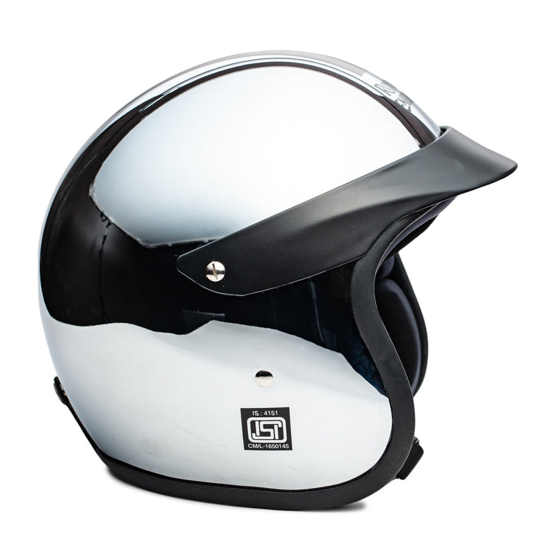 CHROME HELMET SUN PEAK - CHROME