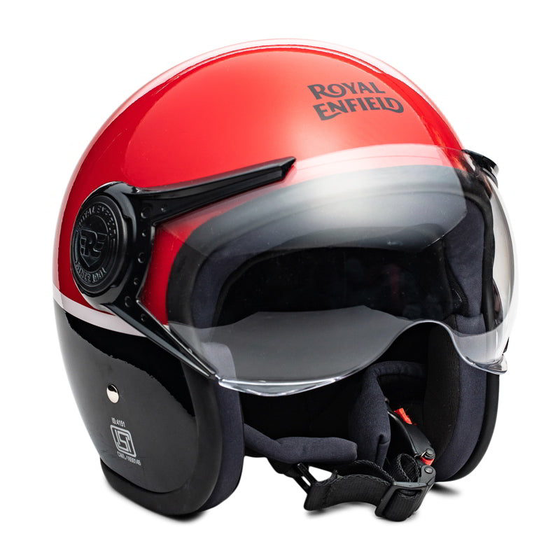 SCRAMBLER HELMET - RAVISHING RED