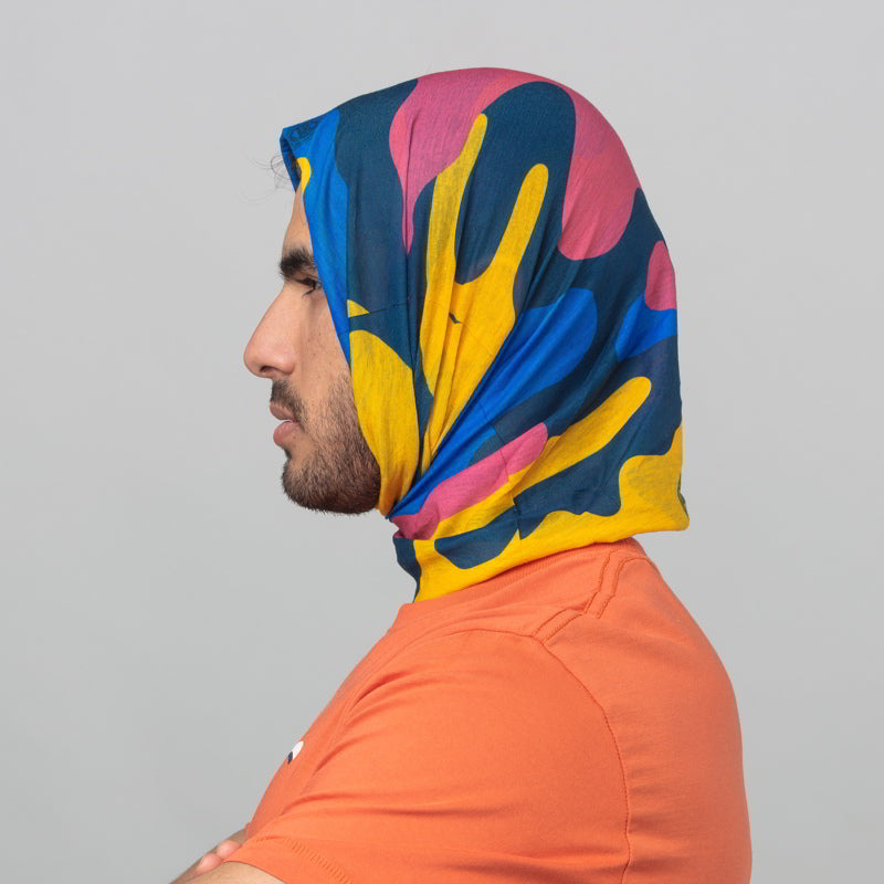 RIDER MANIA 18 HEAD GEAR - MULTI COLOR