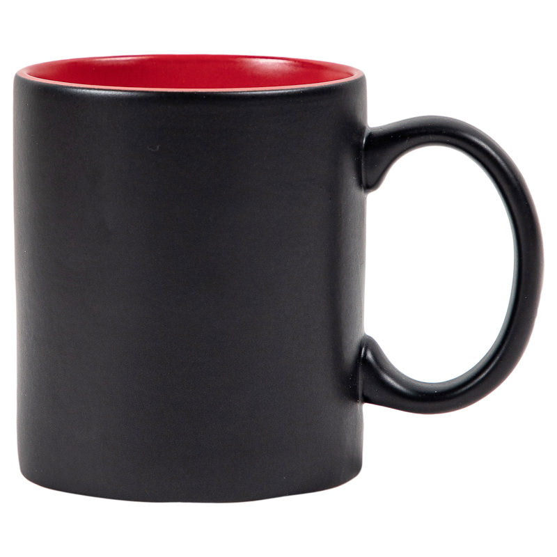 ALL BLACK COFFEE MUG - BLACK