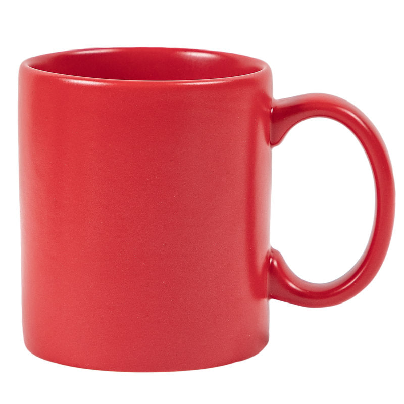 ALL RED COFFEE MUG - RED