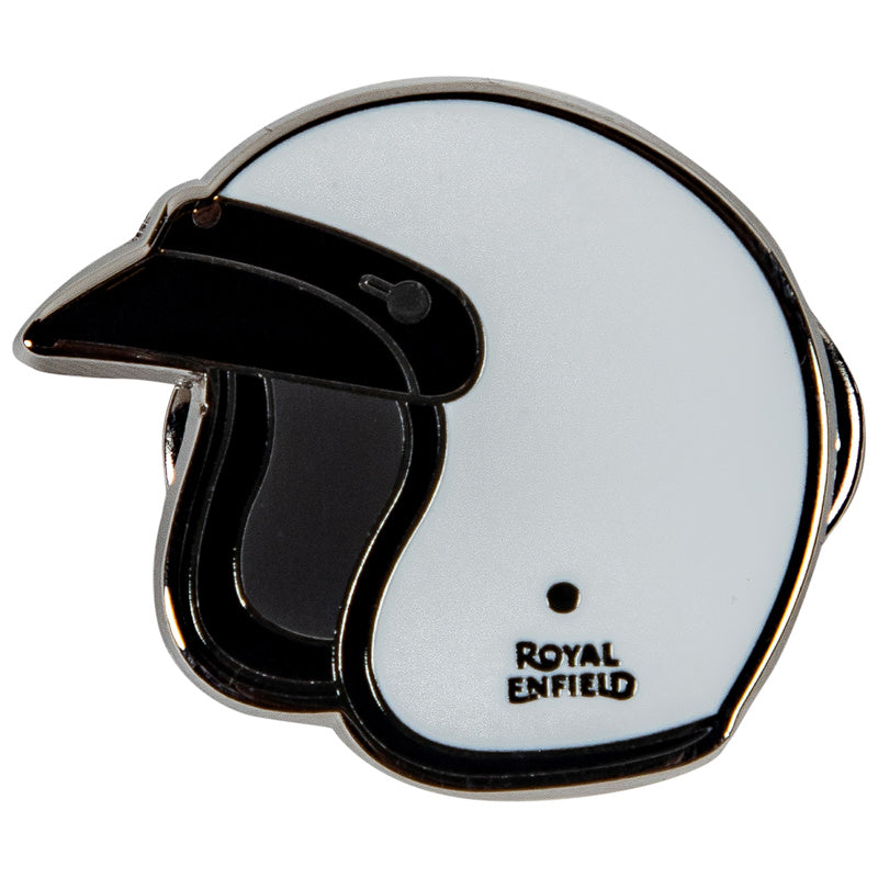 HELMET PIN - WHITE
