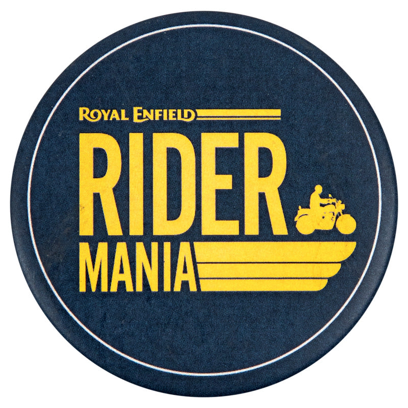 RIDER MANIA 17 PIN BADGE - NAVY