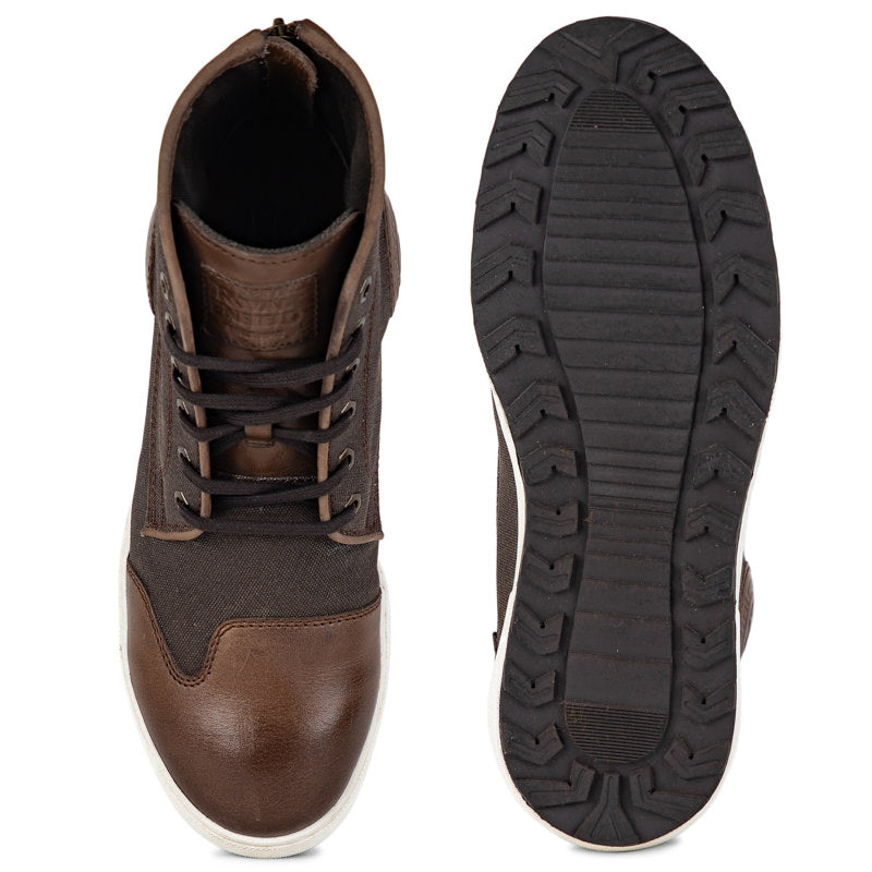 COOPER SNEAKERS - BROWN