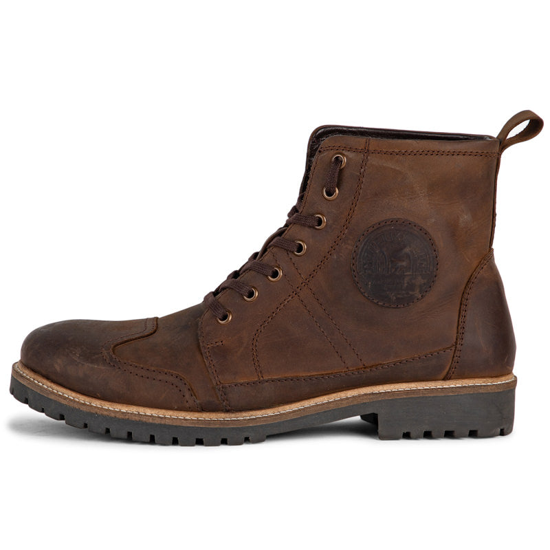 HUNTSMAN LEATHER BOOTS - BROWN