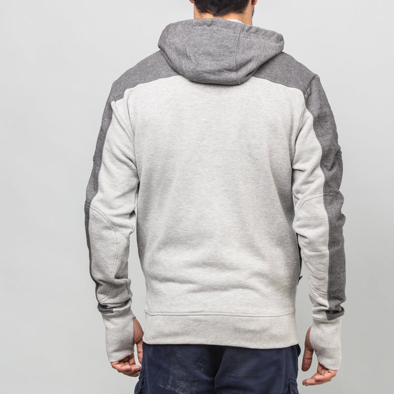 SLEET SWEATSHIRT - GREY MELANGE