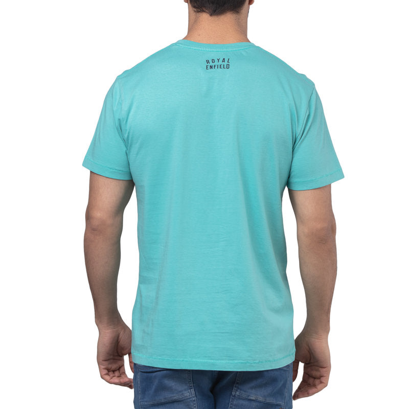 DO IT ON THE COAST T-SHIRT - AQUA SEA