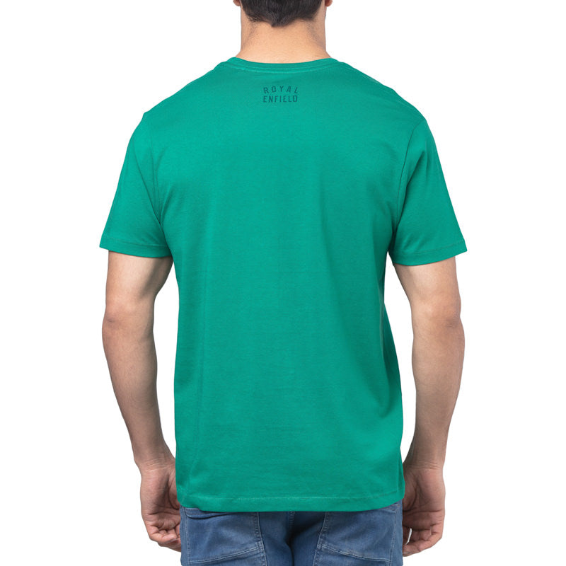TWIN SPARK T-SHIRT - AQUA GREEN