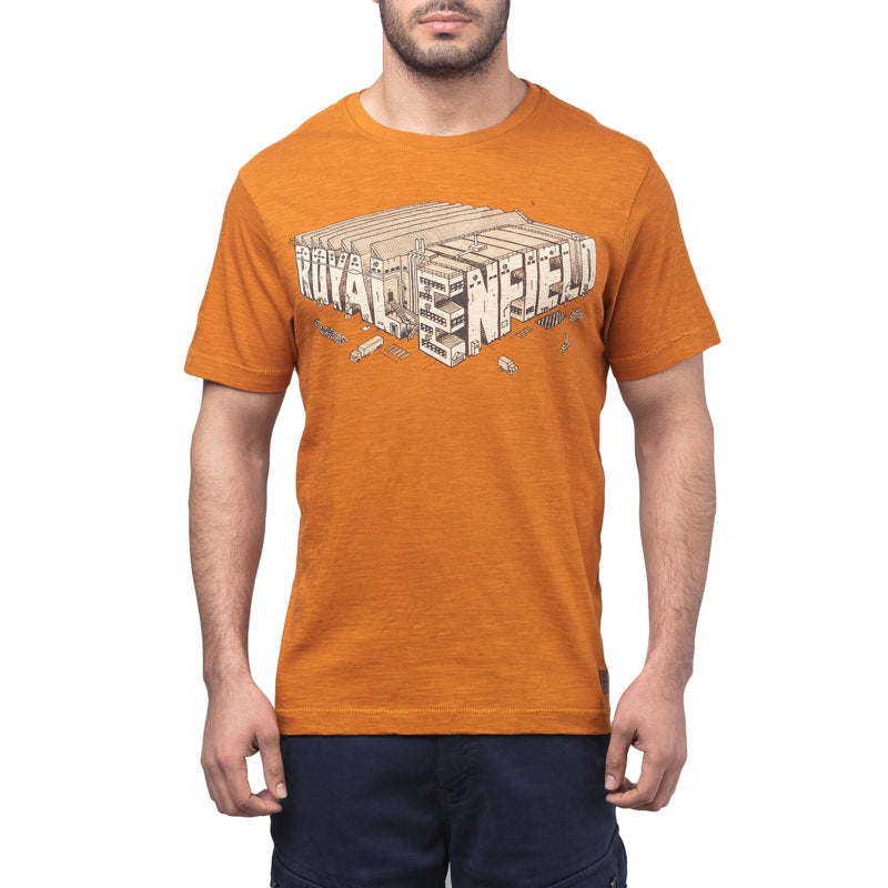 ISOMETRIC FACTORY T-SHIRT - RUST