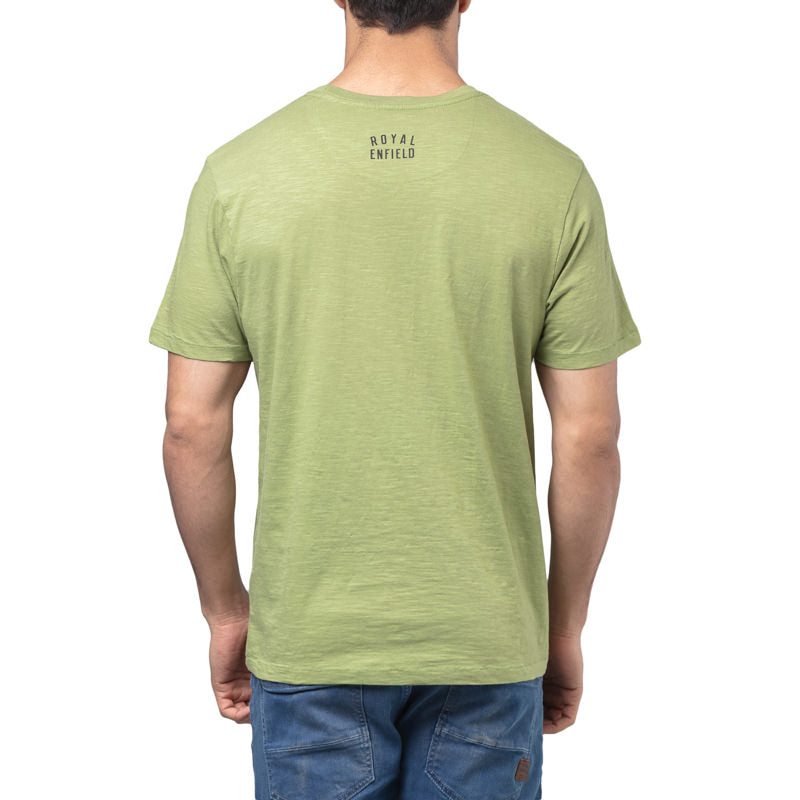SPIRIT OF THE PAST T-SHIRT - LEAF GREEN