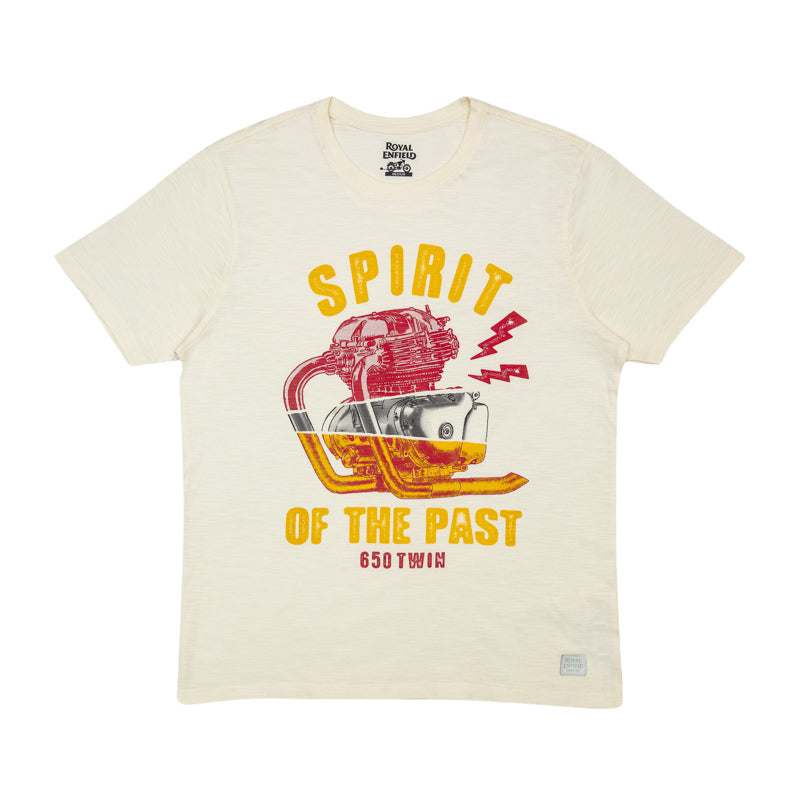 SPIRIT OF THE PAST T-SHIRT - OFF WHITE