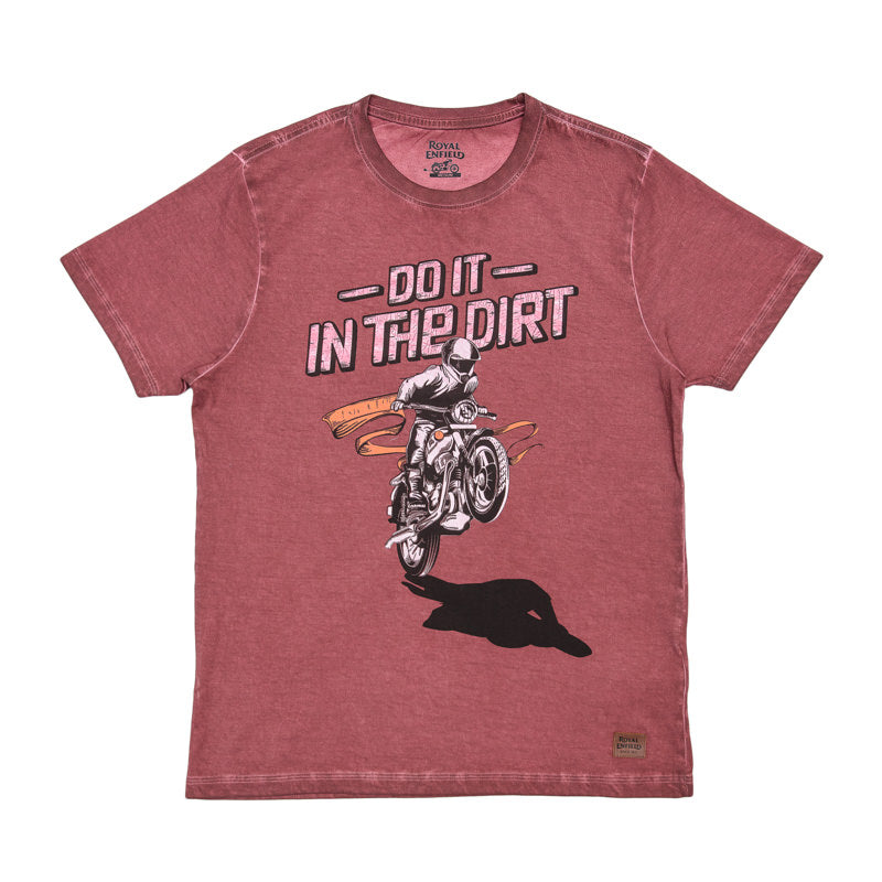 DO IT IN THE DIRT T-SHIRT - RED