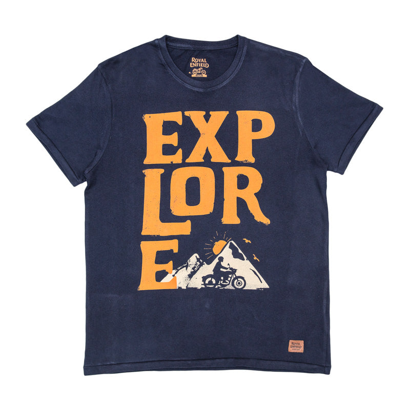 ALWAYS EXPLORE T-SHIRT - NAVY