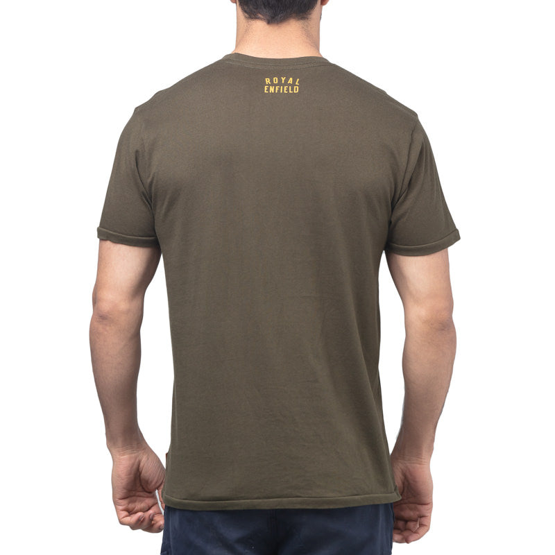 ALWAYS EXPLORE T-SHIRT - OLIVE