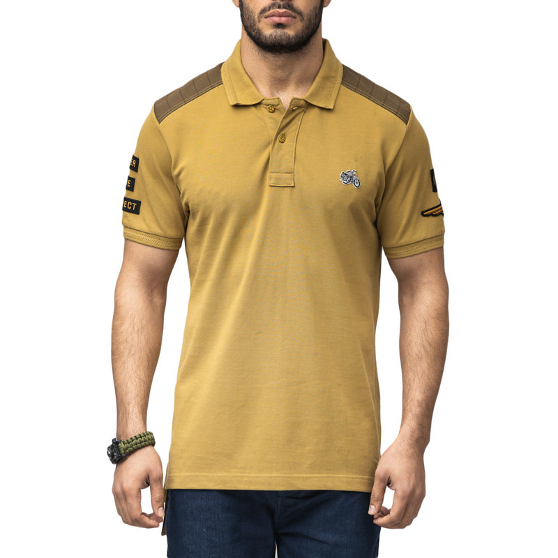 BULLET LEGEND POLO T-SHIRT - KHAKI