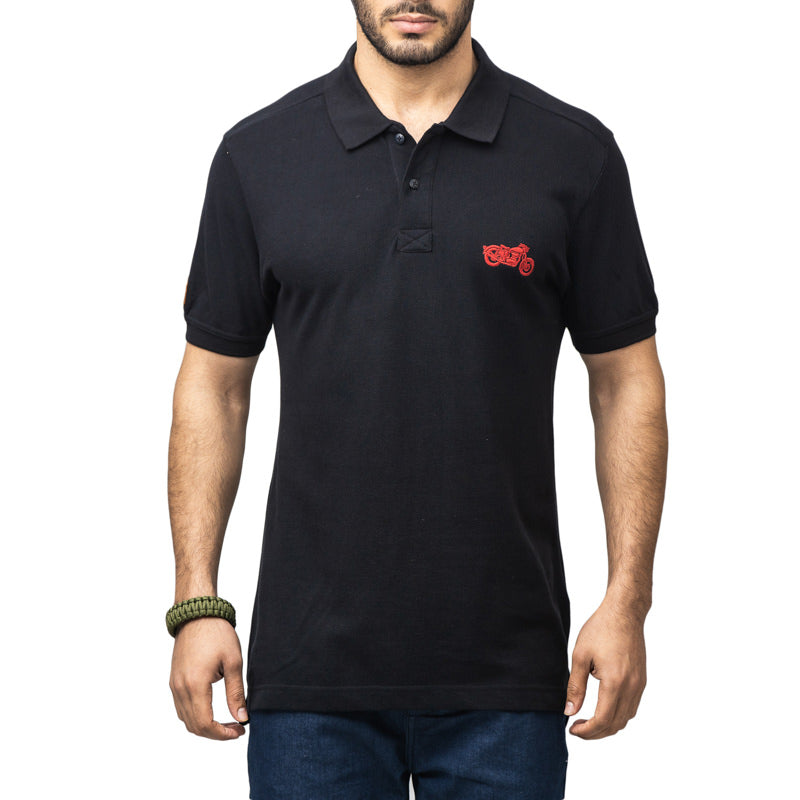 POLO ESSENTIAL - BLACK