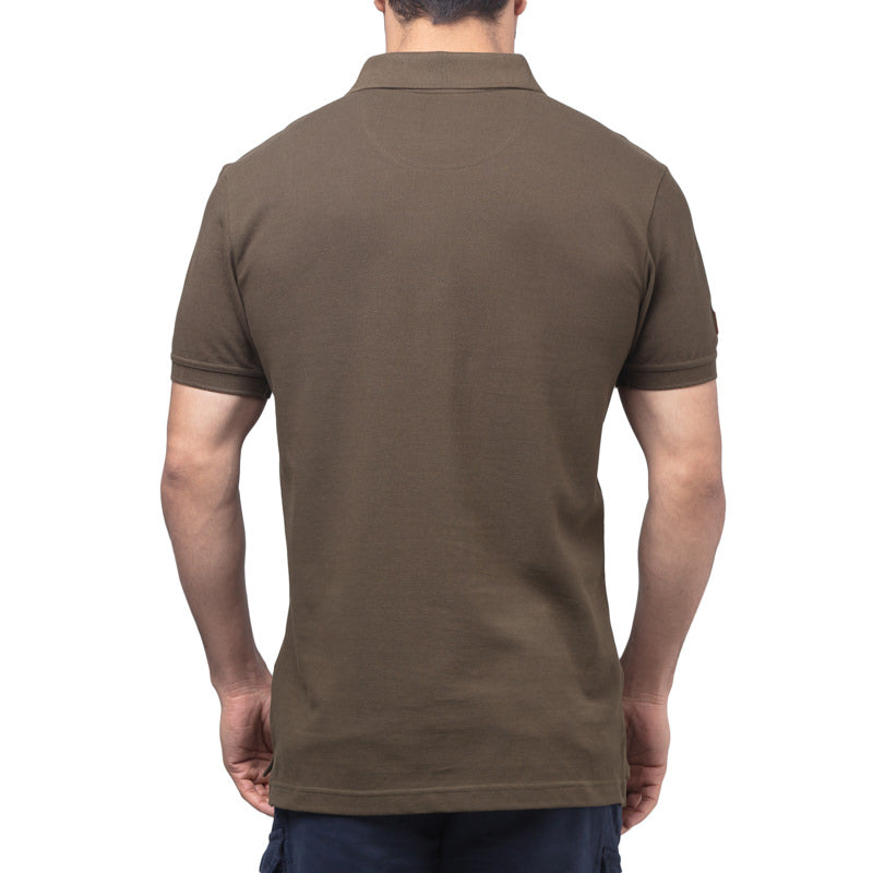POLO ESSENTIAL - OLIVE