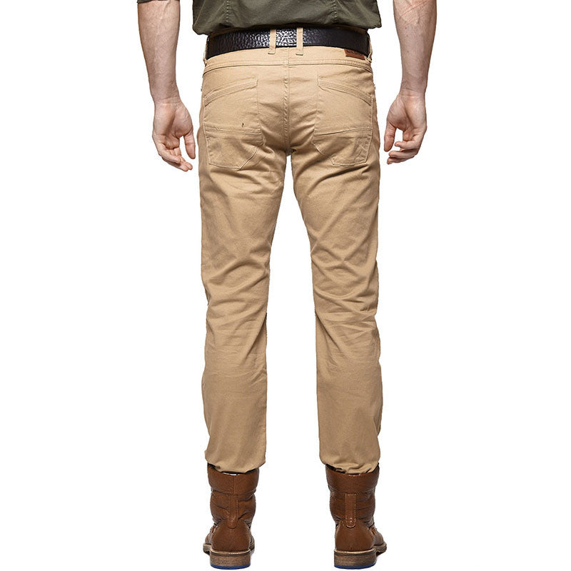 Moto T/1 Slim Riding Trousers Khaki