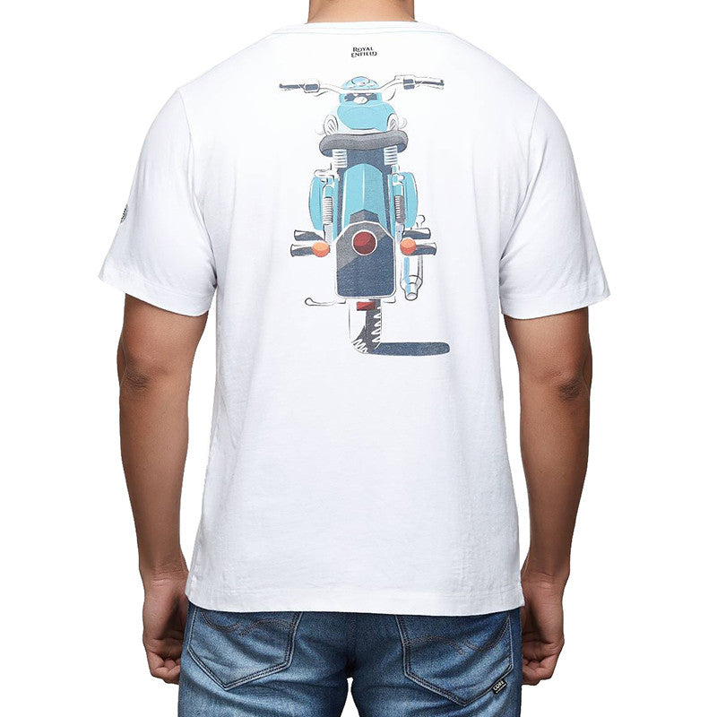 Rider Mania - Classic motorcycle graphic tee - Royal Enfield - 2