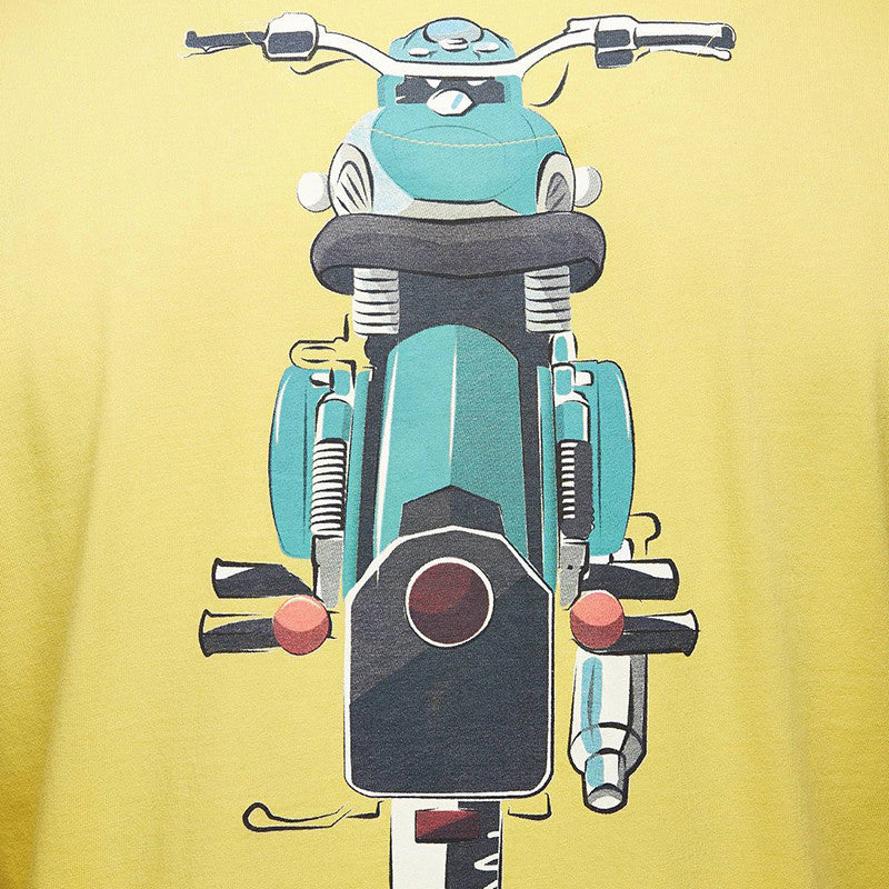 Classic Summer T-Shirt Yellow - Royal Enfield