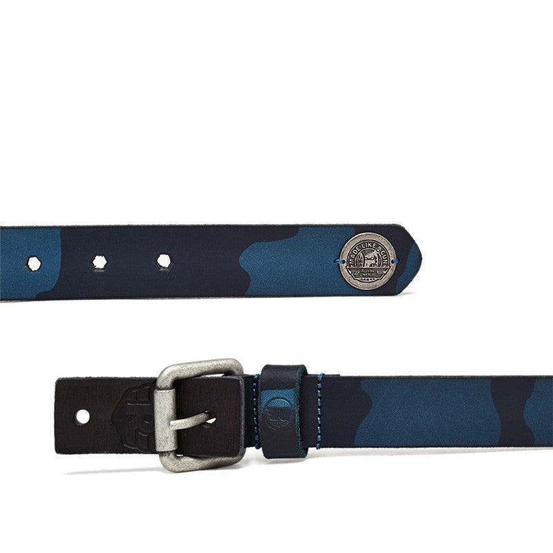 Camouflage Belt Navy - Royal Enfield