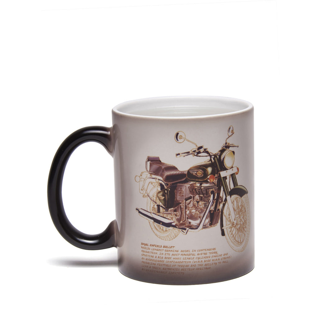 Bullet 500 Magic Coffee Mug Black White - Royal Enfield