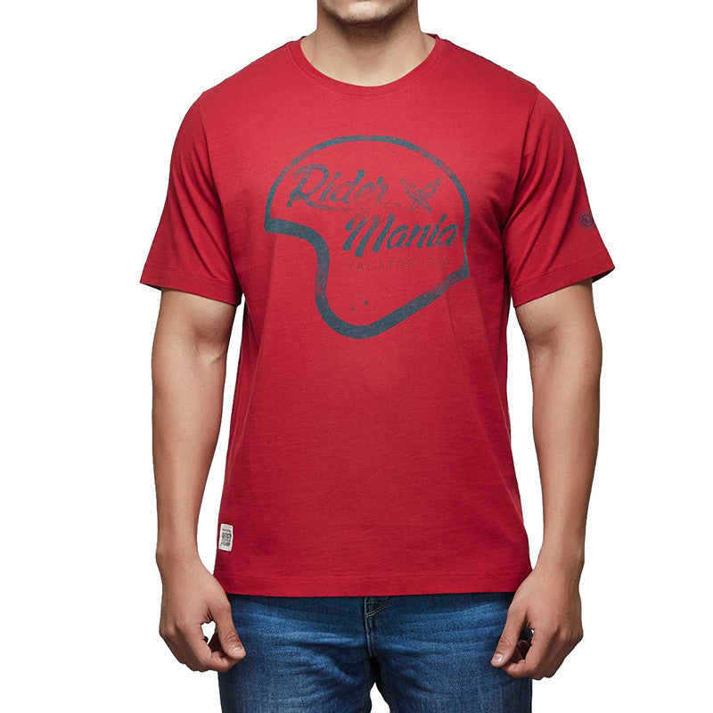 Rider Mania - Helmet graphic tee - Royal Enfield - 1