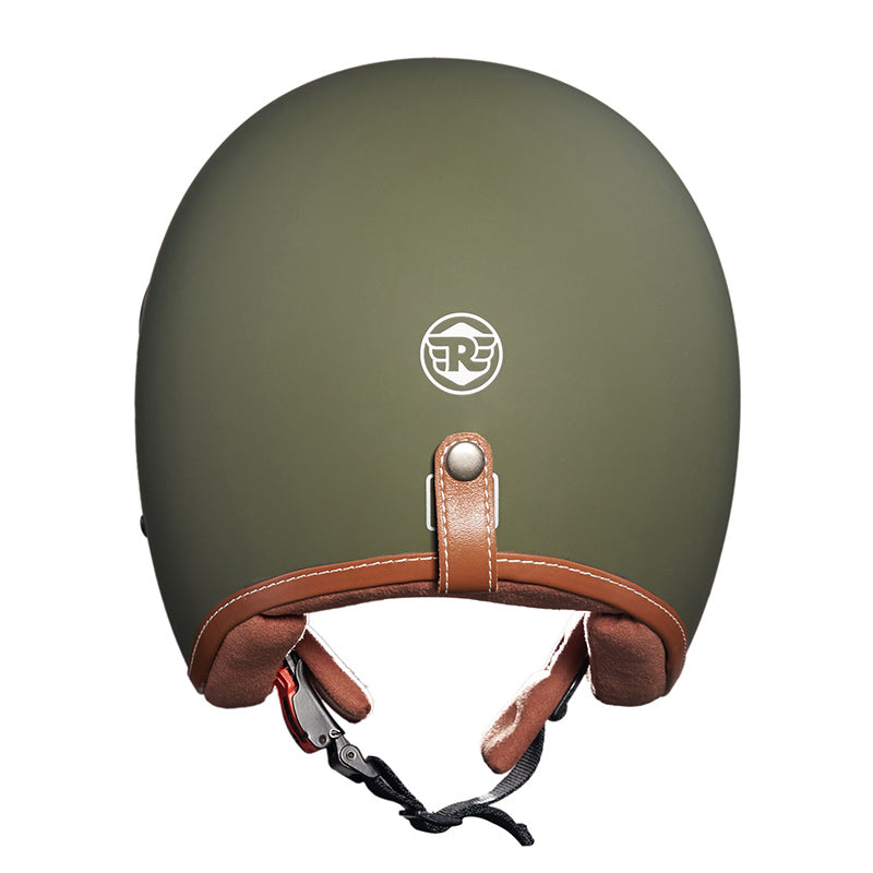 Bobber Helmet Matt Battle Green