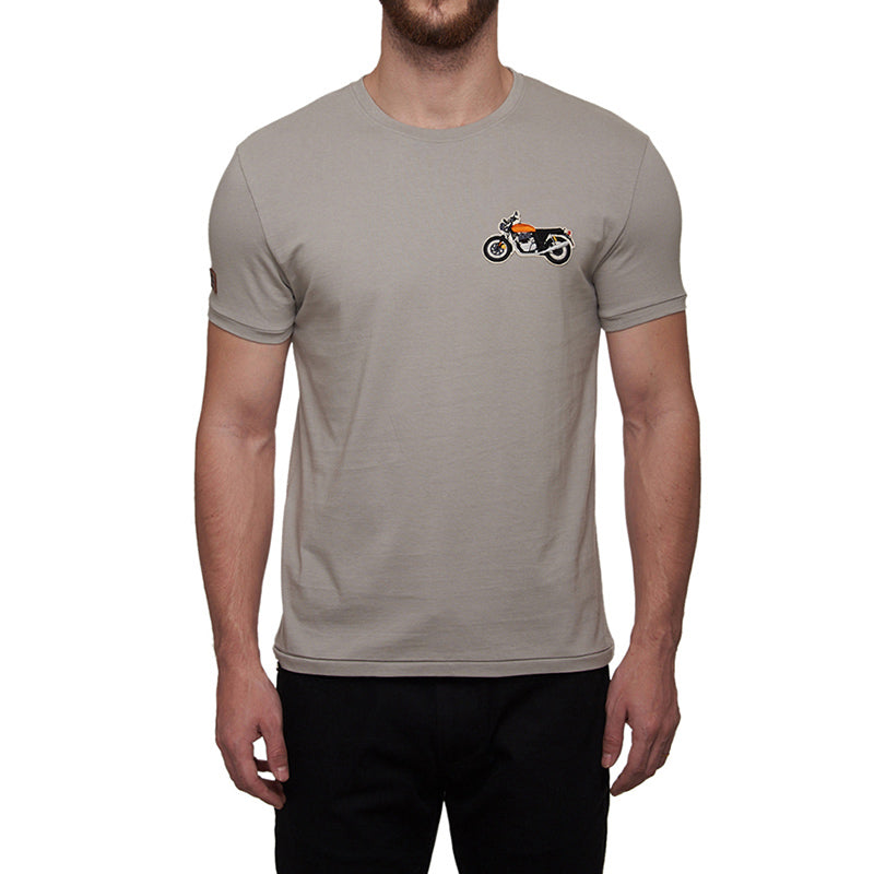 1968 Interceptor Logo T-Shirt Grey