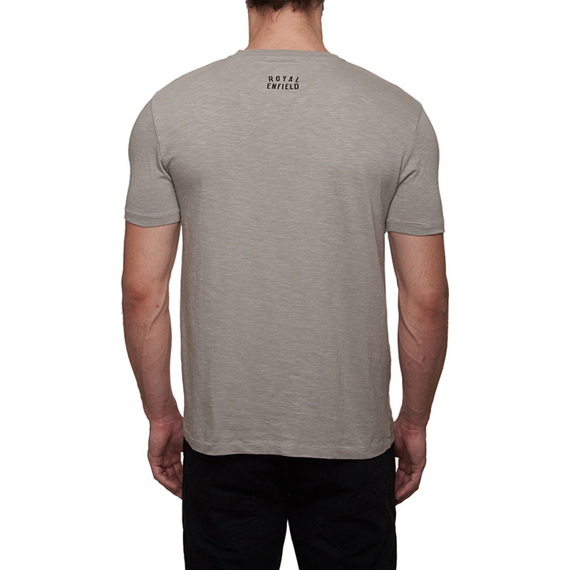 1968 Interceptor T-Shirt Grey - Royal Enfield