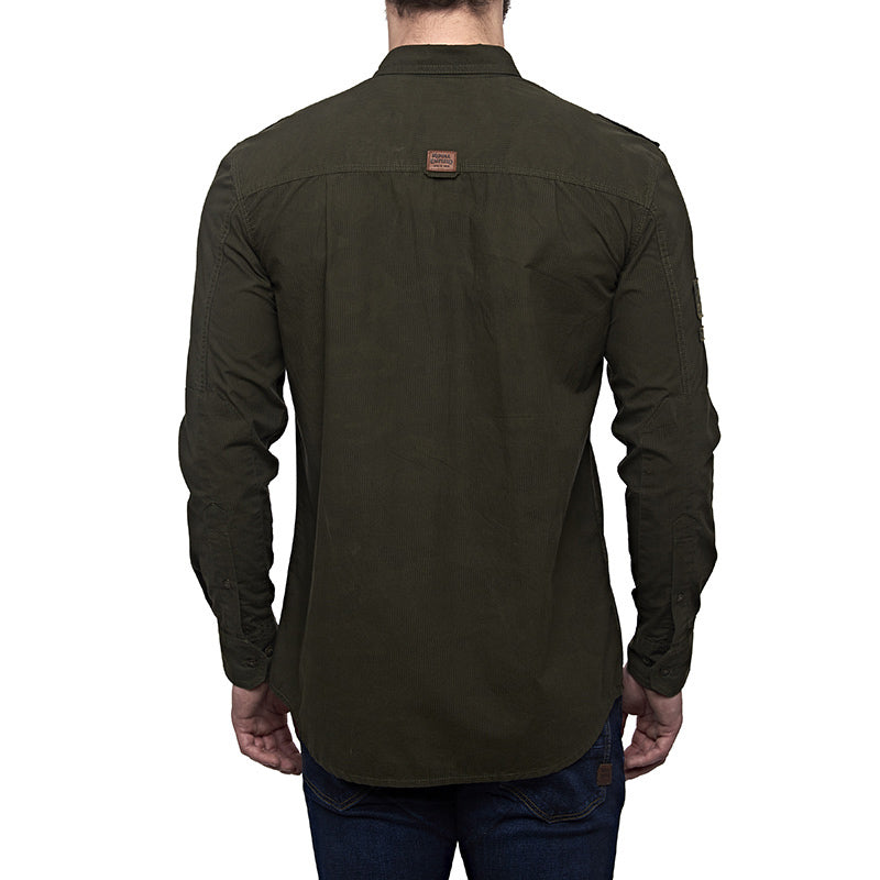 Airborne Camo Shirt Camo Green - Royal Enfield