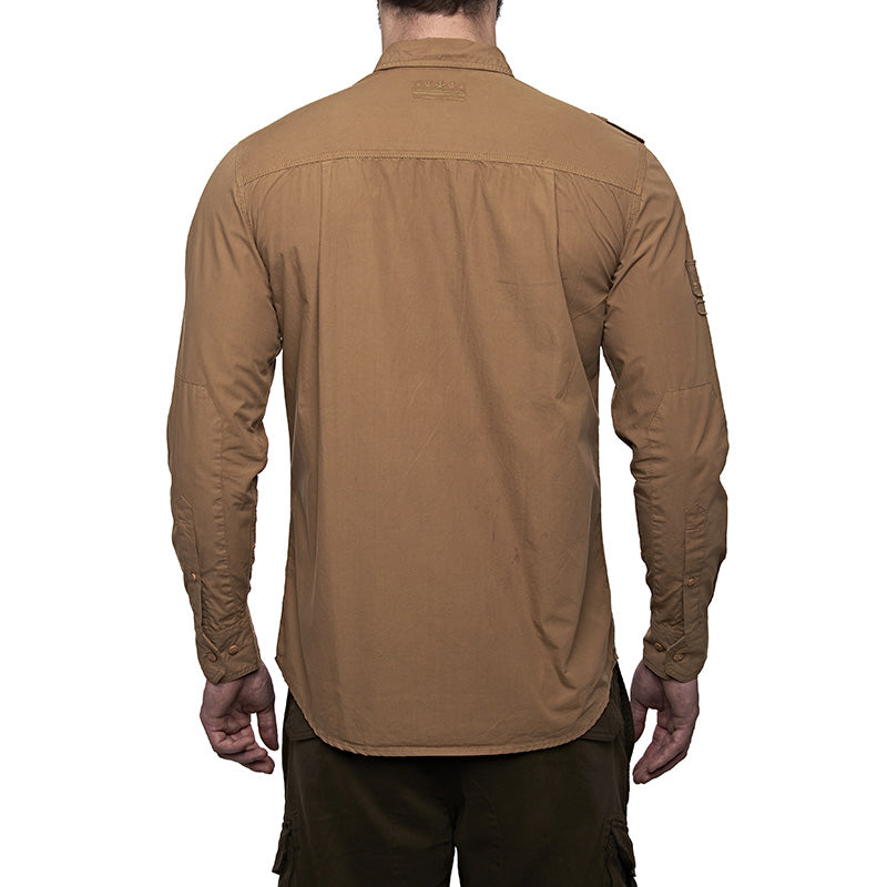 Army Fatigue Shirt Khaki Brown - Royal Enfield