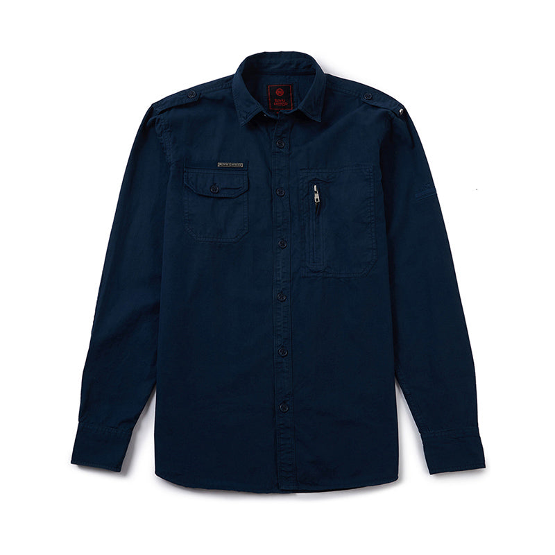 Army Work Shirt Squadron Blue - Royal Enfield