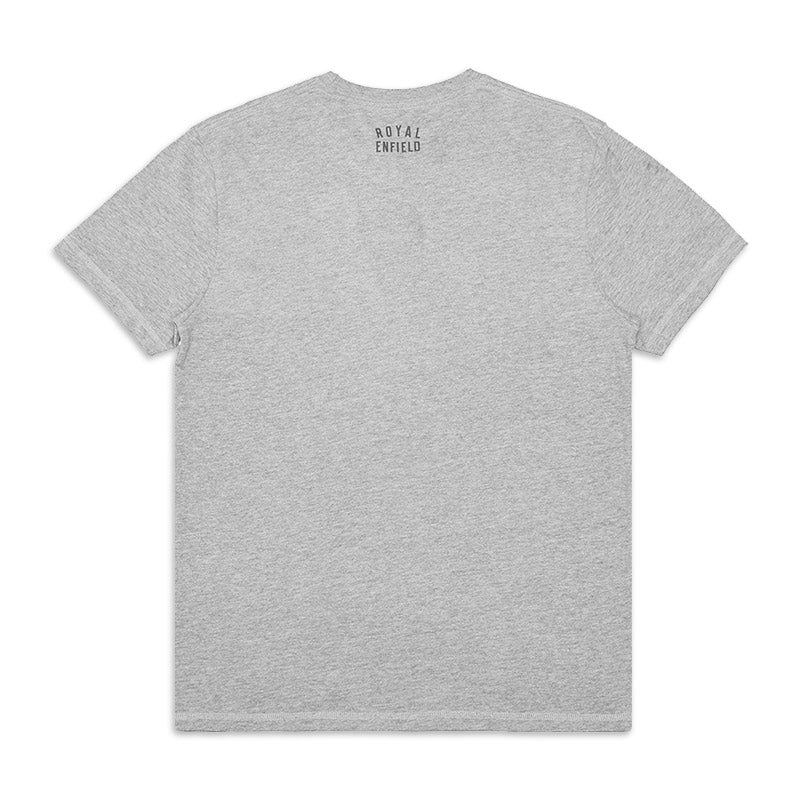 Big Bear Run Champion T-Shirt Melange Grey - Royal Enfield