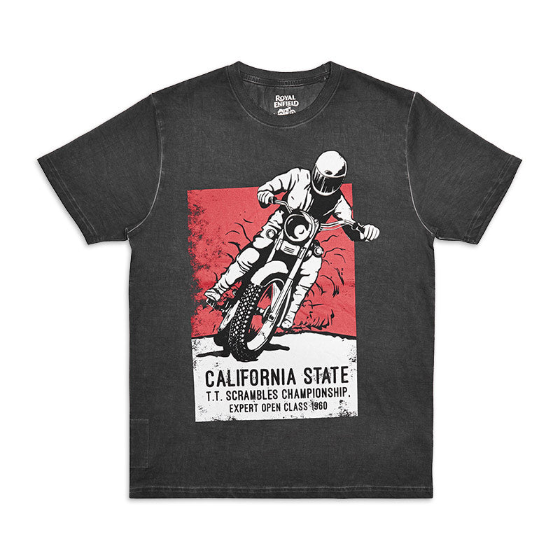 Big Bear Run Poster T-Shirt Black