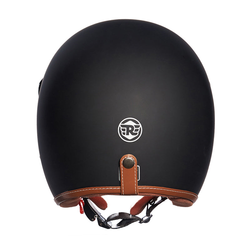 Bobber Helmet Matt Black - Royal Enfield