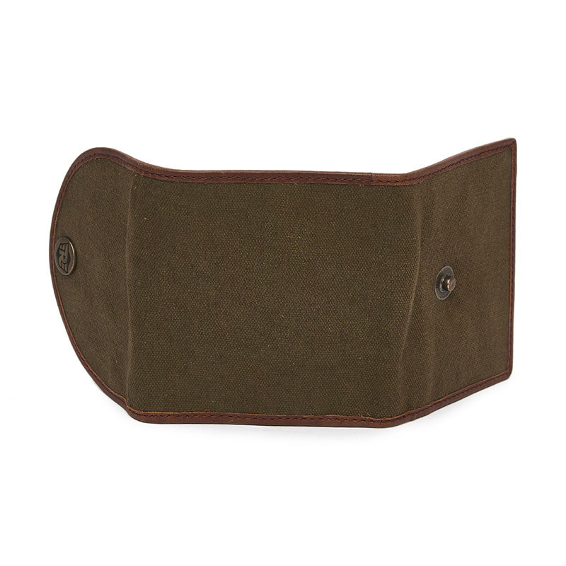 Canvas Card Wallet Khaki Brown - Royal Enfield