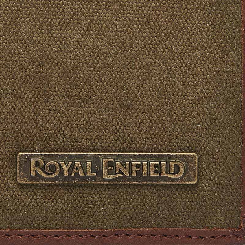Canvasback Wallet Khaki Brown - Royal Enfield