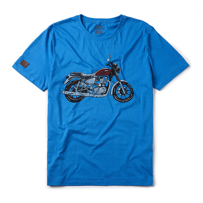 City Slicker T-Shirt Drifter Blue - Royal Enfield