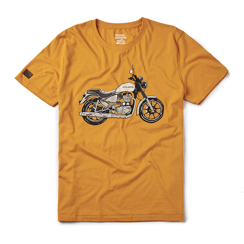 City Slicker T-Shirt Getaway Orange - Royal Enfield