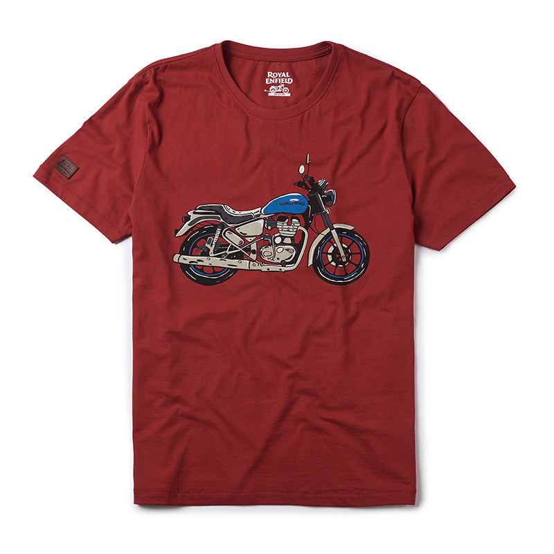 City Slicker T-Shirt Roving Red - Royal Enfield