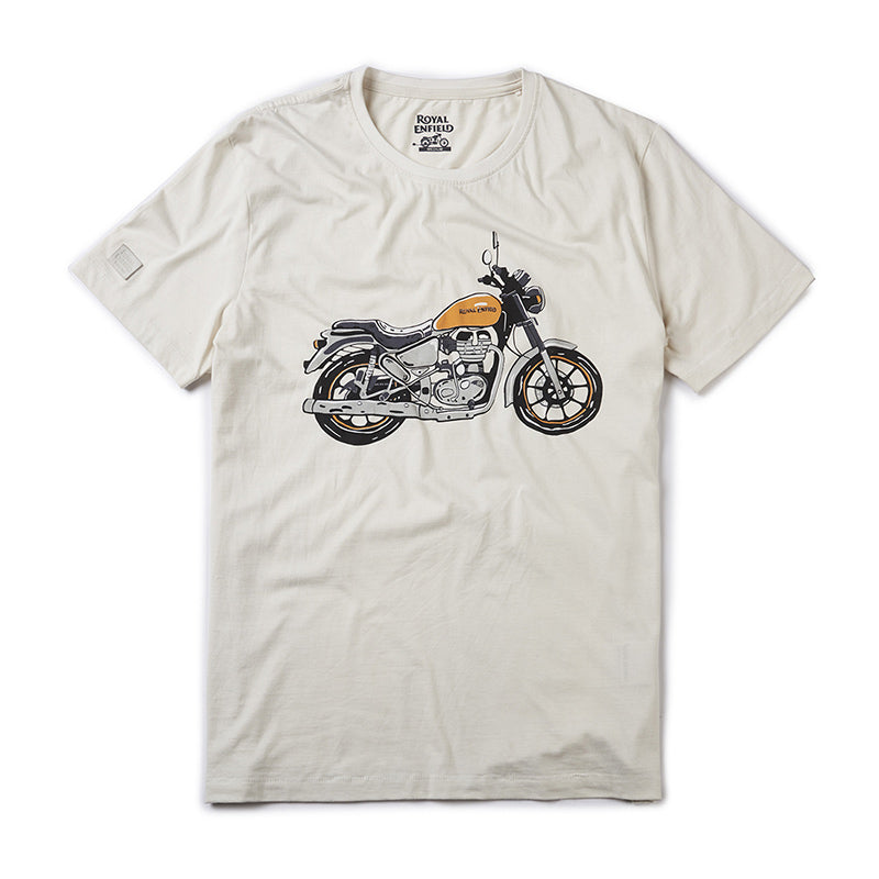 City Slicker T-Shirt Whimsical White - Royal Enfield
