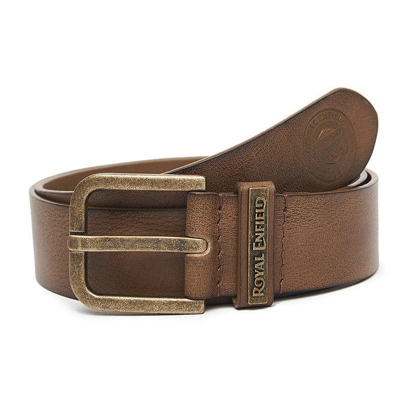 Classic Leather Belt Tobacco Brown
