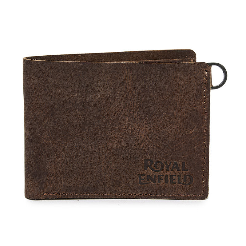 Classic Leather Wallet Tobacco Brown - Royal Enfield