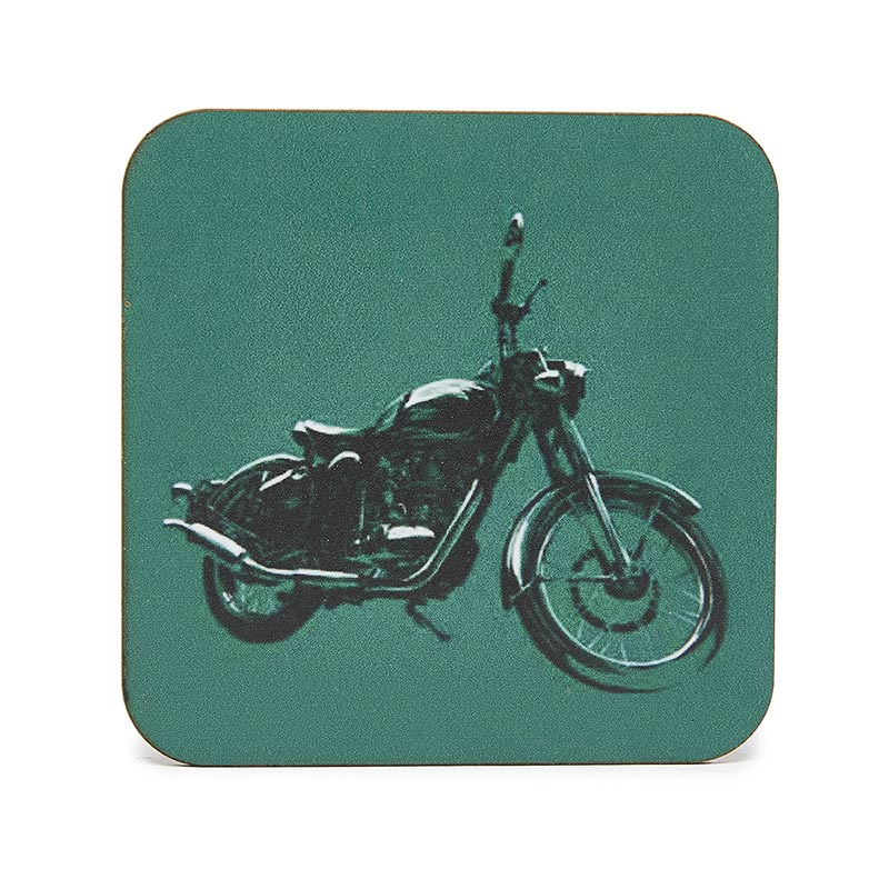 Classic Masterpiece Coaster Set Multicolour - Royal Enfield