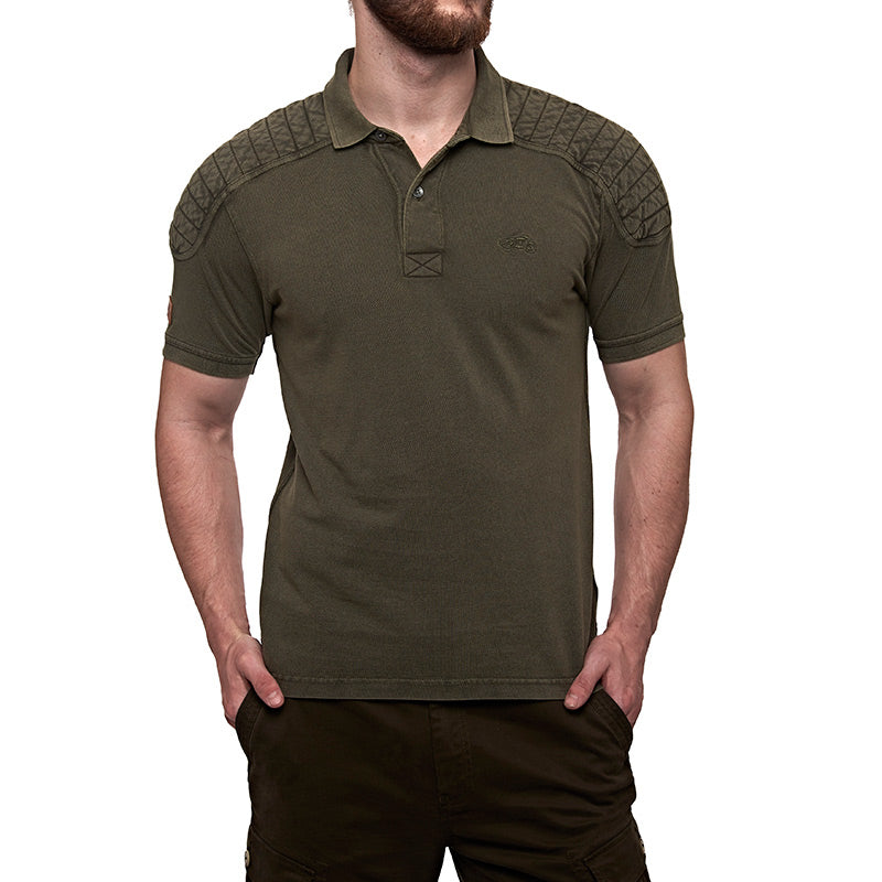 Classic Moto Polo T-Shirt Olive Green - Royal Enfield