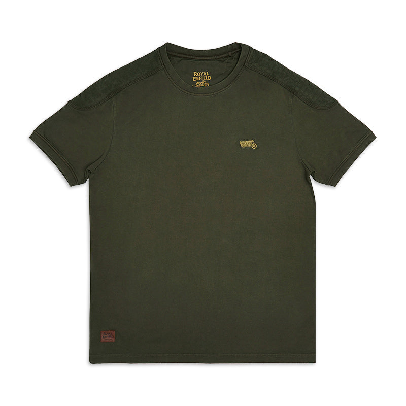Classic Moto T-Shirt Olive Green - Royal Enfield