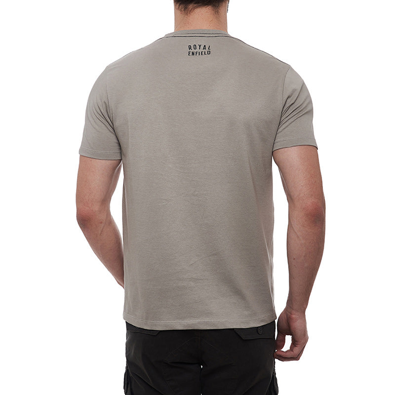 Classic Needlecraft T-Shirt Light Grey