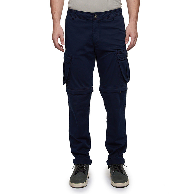Convertible Cargo Pants Navy Blue - Royal Enfield